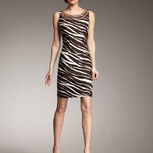 KATE SPADE Joselle Zebra print dress